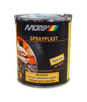 Motip Spraypl. Black Gloss 750ml